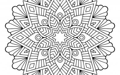 Free Mandala Coloring Page
