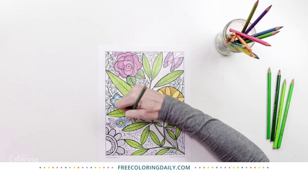 Susan Black Coloring Video