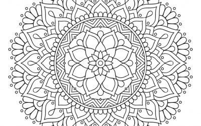 Free Ornamental Mandala Coloring