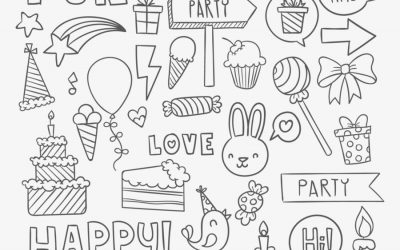 Free Birthday Coloring Page
