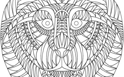 Free Animal Pattern Coloring