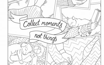 Free Hygge Coloring Page