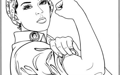 Free Rosie the Riveter Coloring