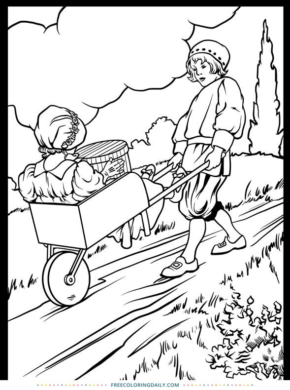Free Nursery Rhyme Coloring