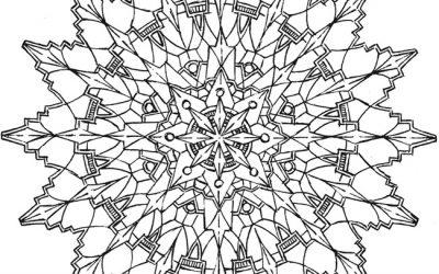 Free Sun Mandala Coloring