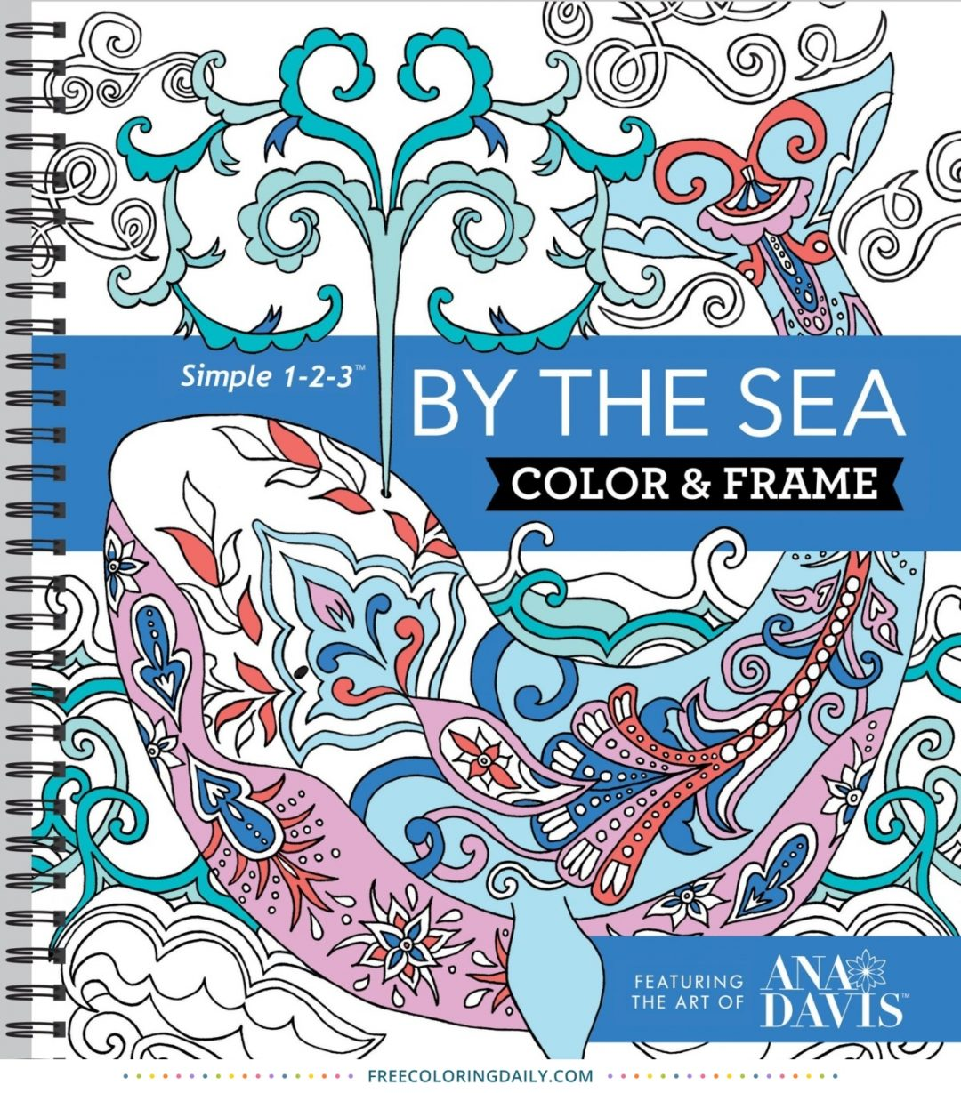 Color & Frame Coloring Book – By the Sea