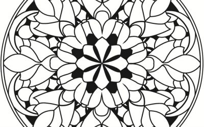 Free Cool Mandala Coloring