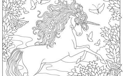 Free Unicorn Fantasy Coloring