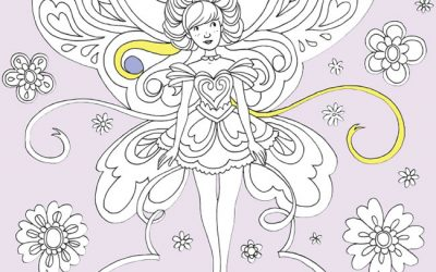 Free Pretty Fairy Coloring Page
