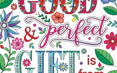 Be Blessed Adult Coloring Book