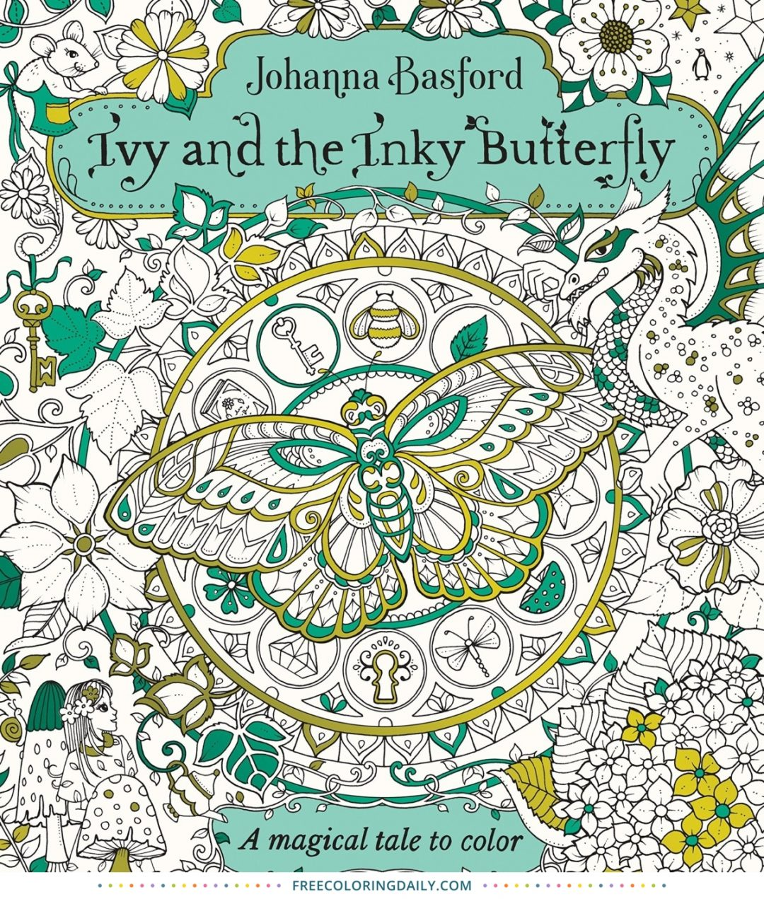 Ivy and the Inky Butterfly Coloring