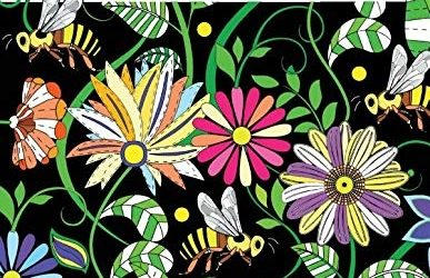 Flowers, Animals & Garden Coloring