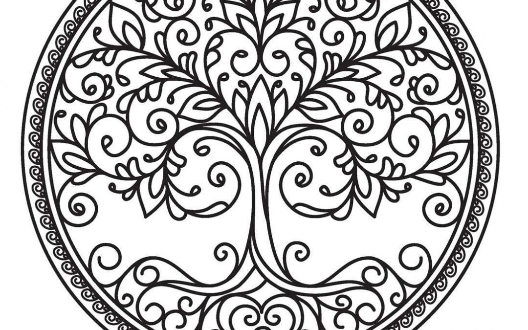 Free Tree of Life Coloring Page