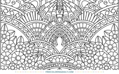 Free Amazing Butterfly Coloring