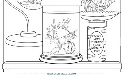 Free Fish Aquarium Coloring