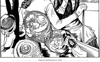 Free Milliner Coloring Page