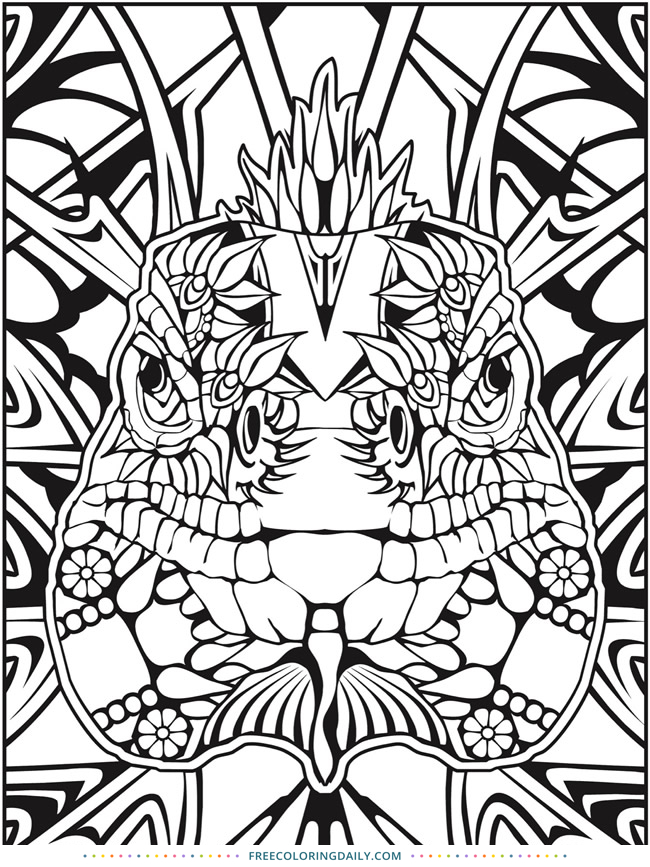 Free Snake Coloring Page