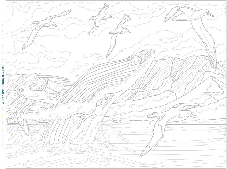 Free Ocean Life Coloring Page